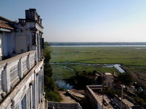 vue sur la Narmada depuis Bharuch